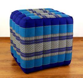 (Auslaufmodell) Nr.89 Würfel-Sitzkissen, blau, 55 cm x 45 cm