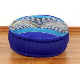 Kapok, Zafukissen mit großem Steppkissen L, blau