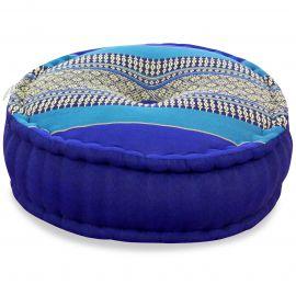 Zafukissen, Meditationskissen, blau