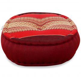 Zafukissen, Meditationskissen, rubinrot