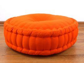 (Auslaufmodell) Nr.42 Zafukissen, Meditationskissen, einfarbig, orange