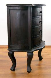Asiatische, bogenförmige  Holzkommode,  Nr.63