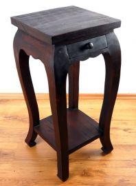 Asiatischer Tisch mit Schublade  (extra hoch)