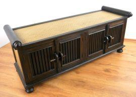 Asiatisches  Rattan - Sideboard  Nr.42B, groß