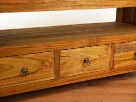 Java Teakholz-Sideboard mit 3 Schubladen im rustikalen Design,  Nr.333