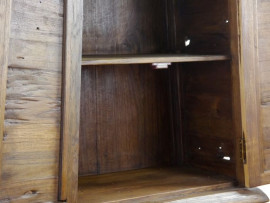 Massivholzschrank  alte Teakholzplanke  Nr.57 groß