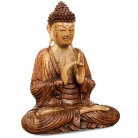 Ruheausstrahlender Buddha aus Bali, Uttarabodhi Mudra, klein
