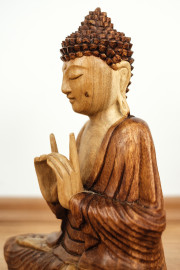 Ruheausstrahlender  Buddha  aus Bali