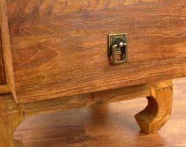 Java Teakholz Nachttisch/Opiumtisch,  Nr.356