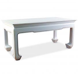 Chinesischer Tisch, Couchtisch, weiß, Nr.606