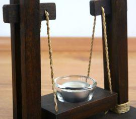 Teelichthalter  Schaukel